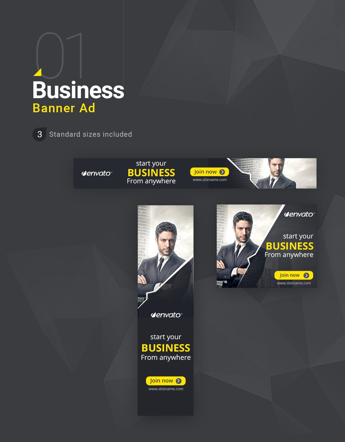 Mega Banner Package 48 PSD Banners with FULL rights