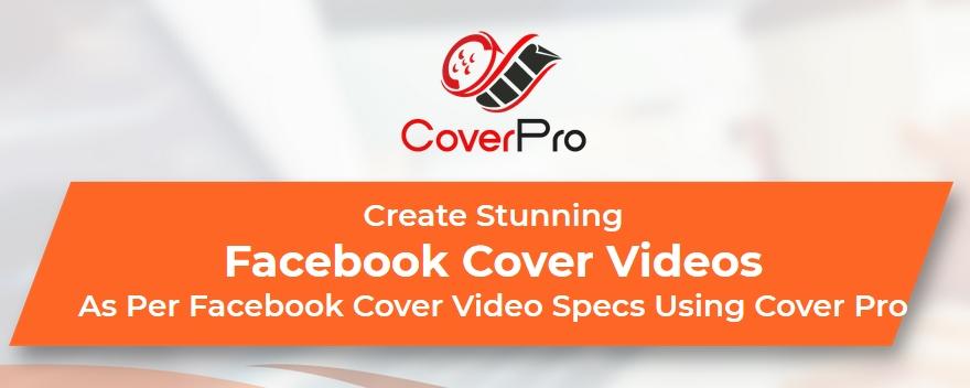 Create Stunning Facebook Cover Videos As Per Facebook Cover Video Specs Using Cover Pro