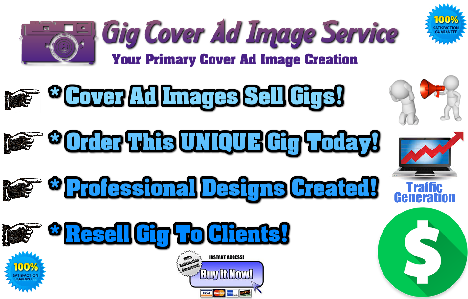 Gig Cover Image Ads For Microjob Sites Sales