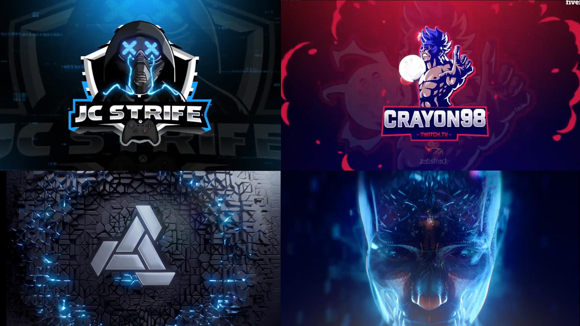 create custom intro video logo animation