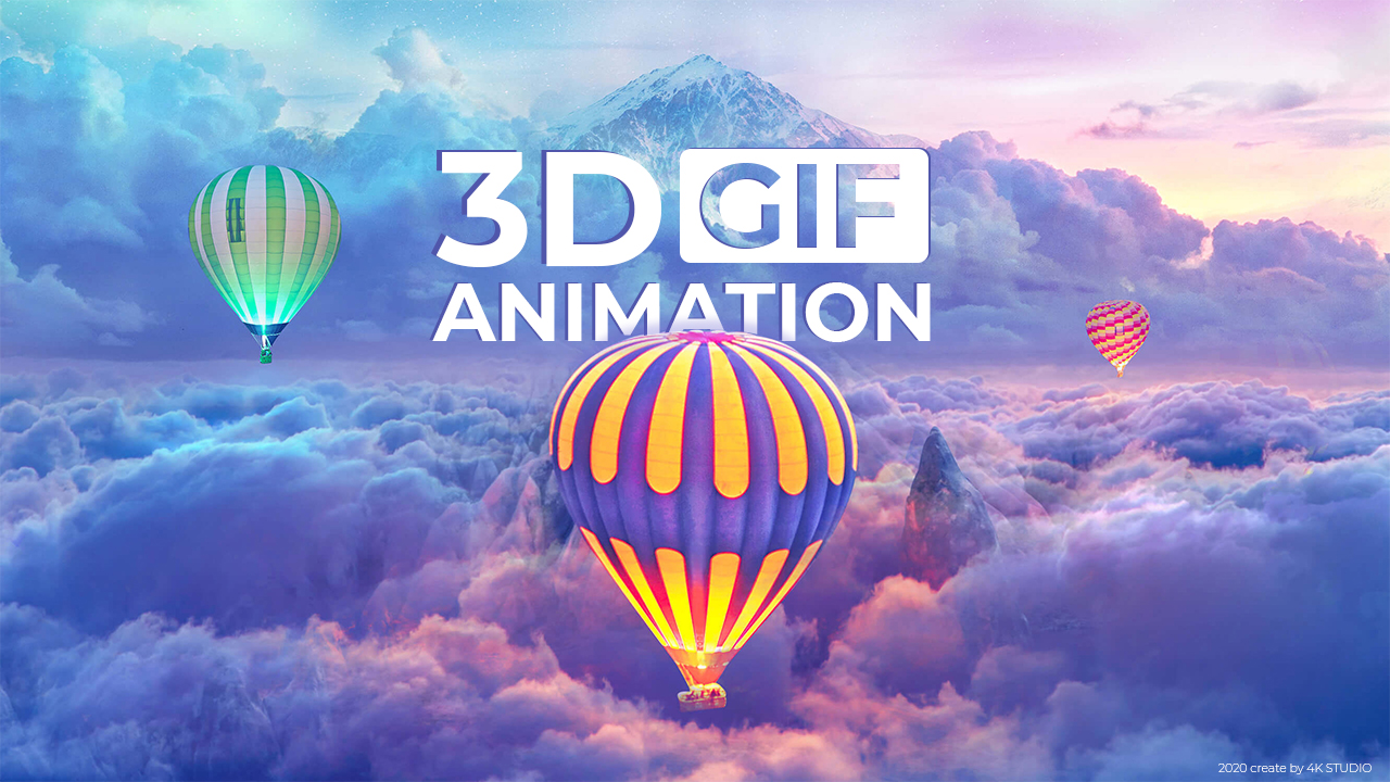 I will do 3d image animation GIF
