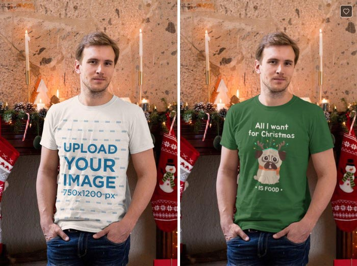 Awesome T-Shirt Mockup with Your Design