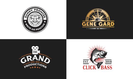 i will create modern minimalist business logo design