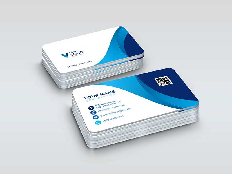 Design Stylish And Professional Business Card