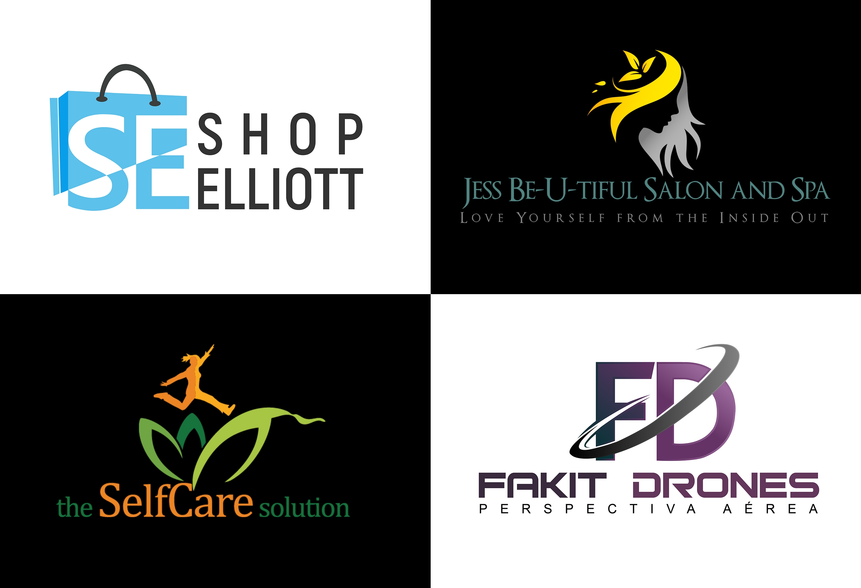 Modern Logo Design With Copyrights