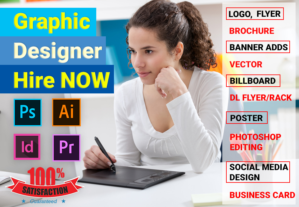 Professional Graphic Designer Hire now