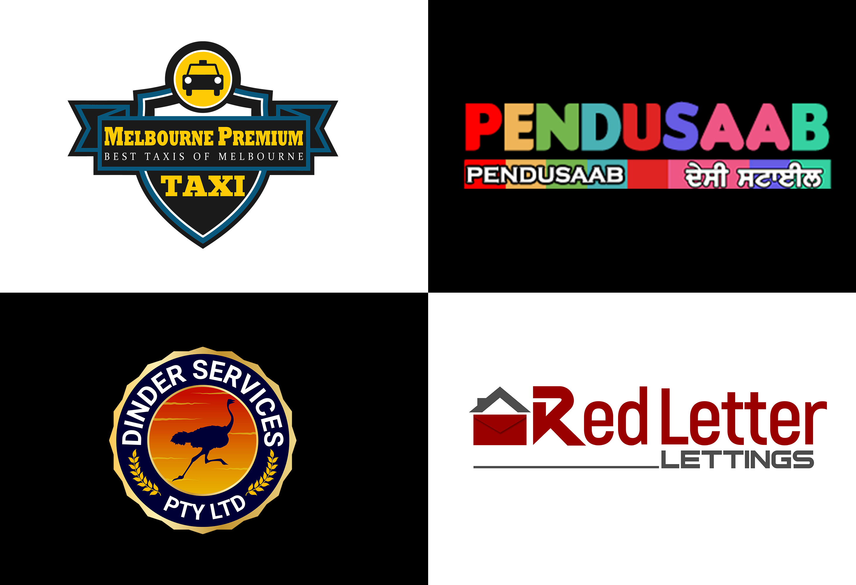 Modern Logo Design With Copyrights