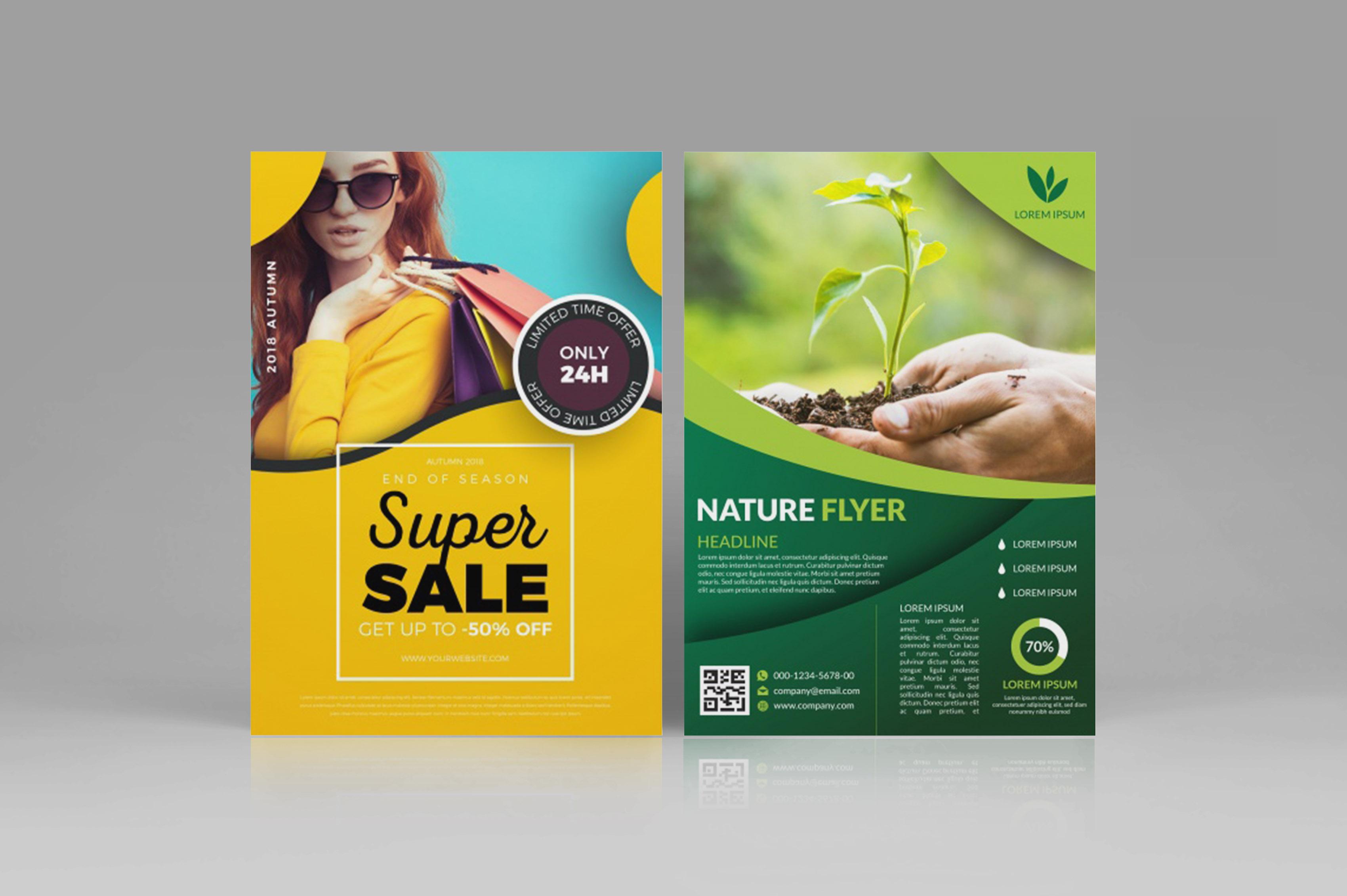 Design CREATIVE Flyer, Brochure, Poster For You
