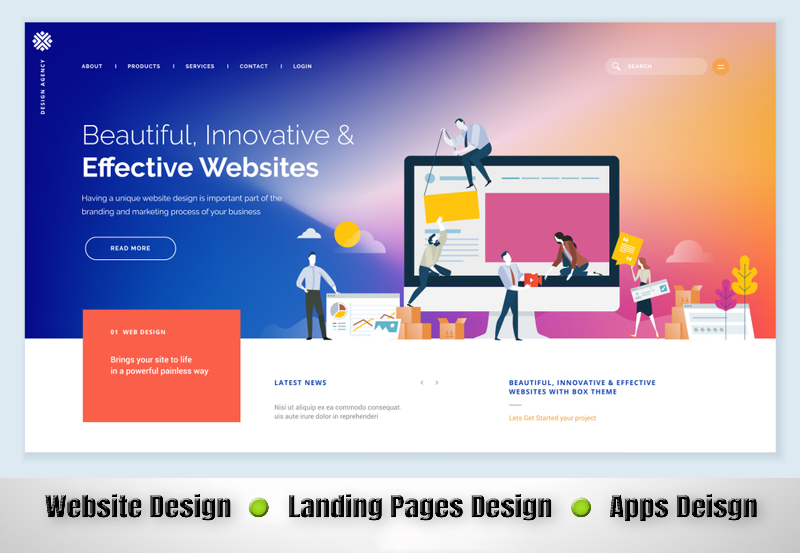 Design Awesome Ui, Ux For Web or Apps
