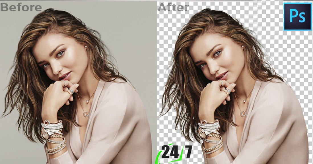 Remove background of any images within 2hrs.