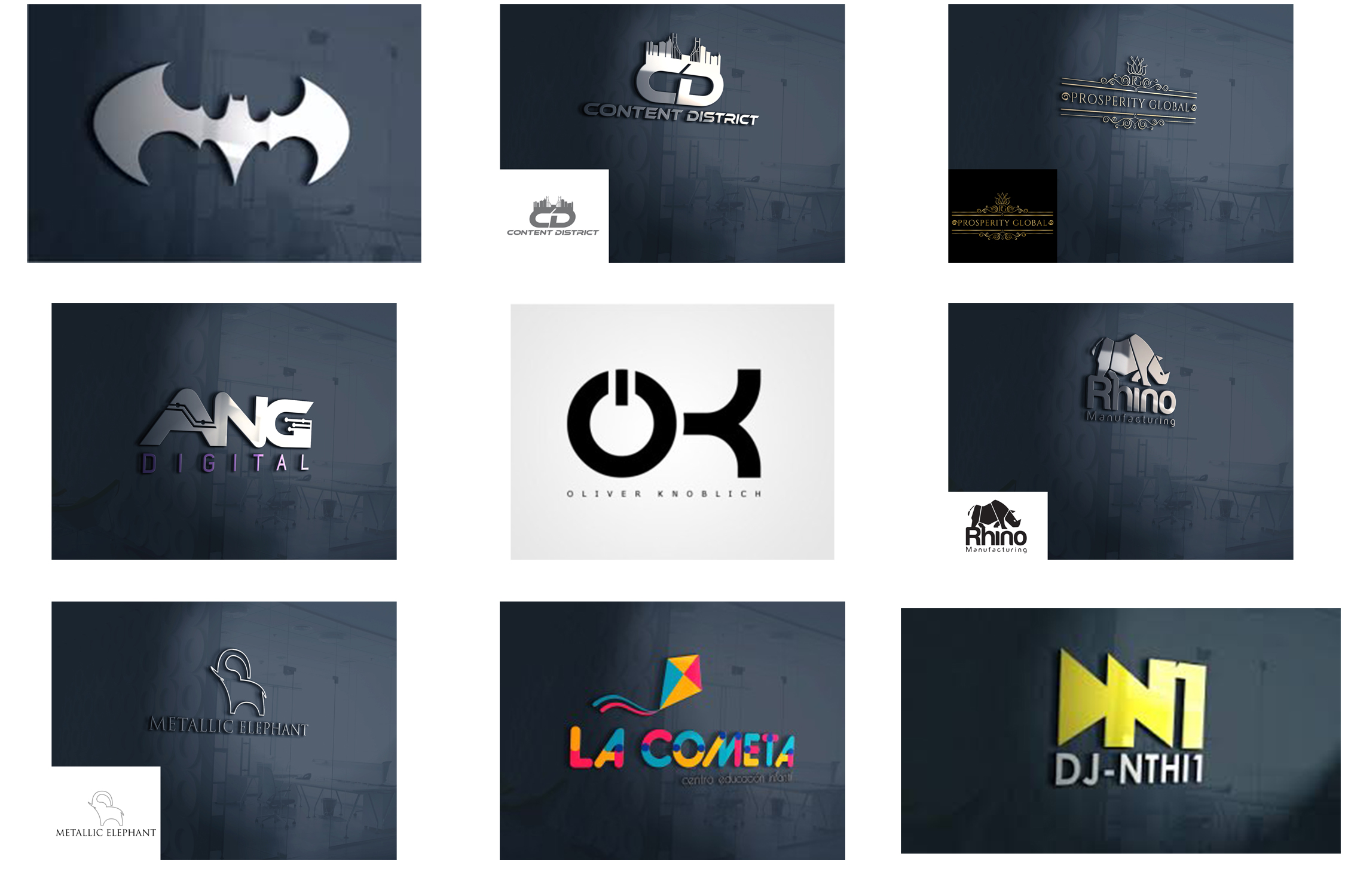 Do Unique Logo Design Within 24hrs