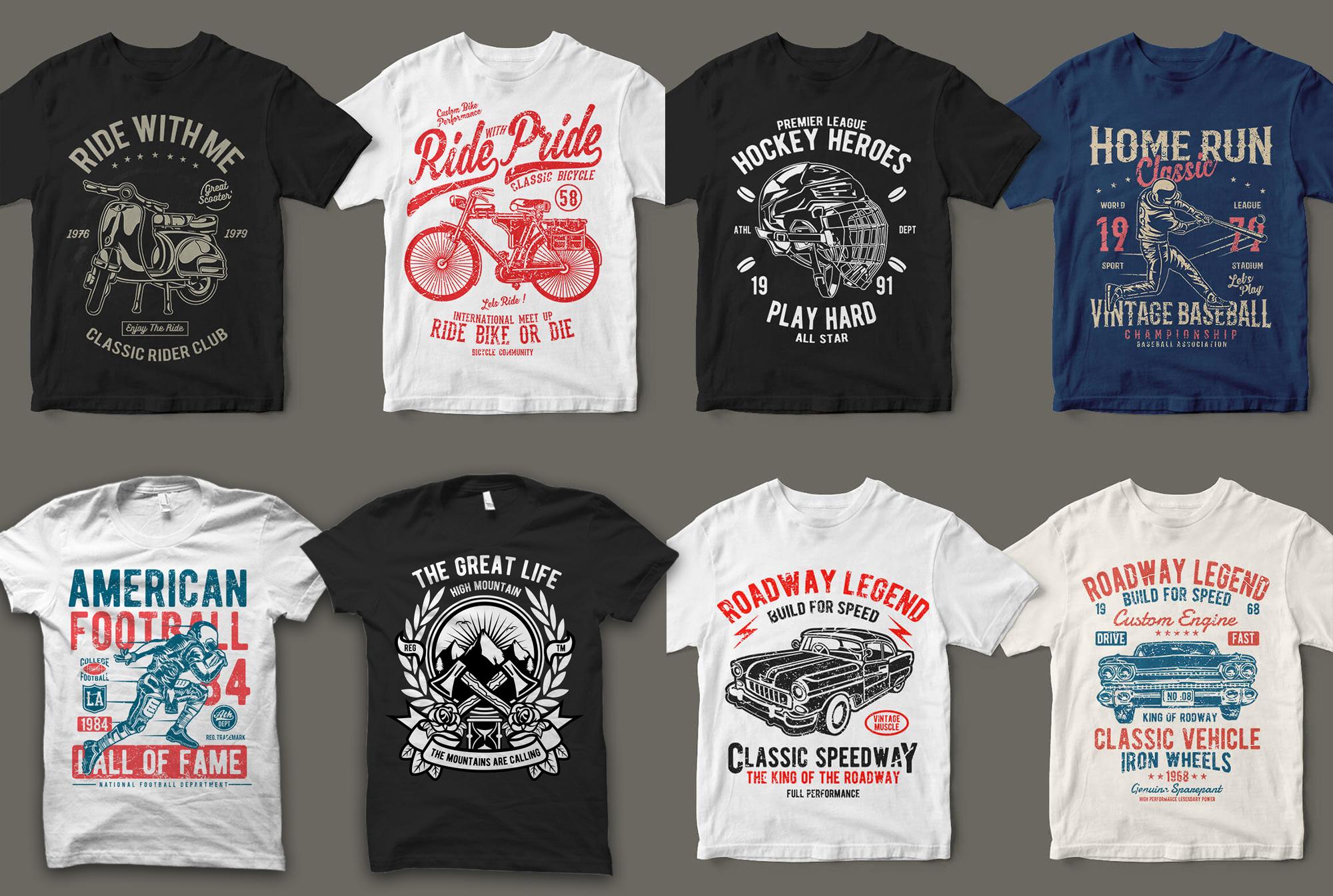 Send You 18999+ Print Ready Tshirt Designs