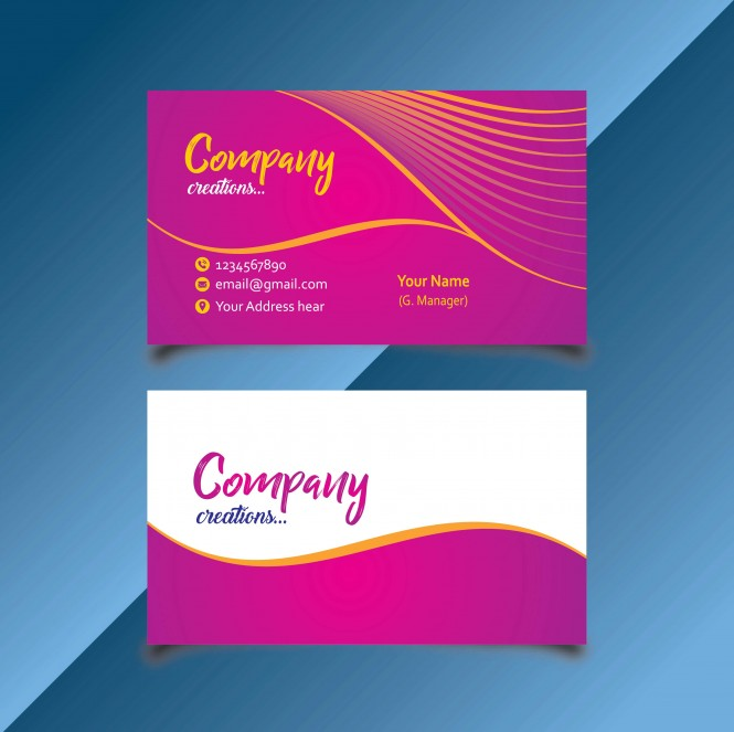 Design Professional And Beautiful Business Card In 3 Hours For 3
