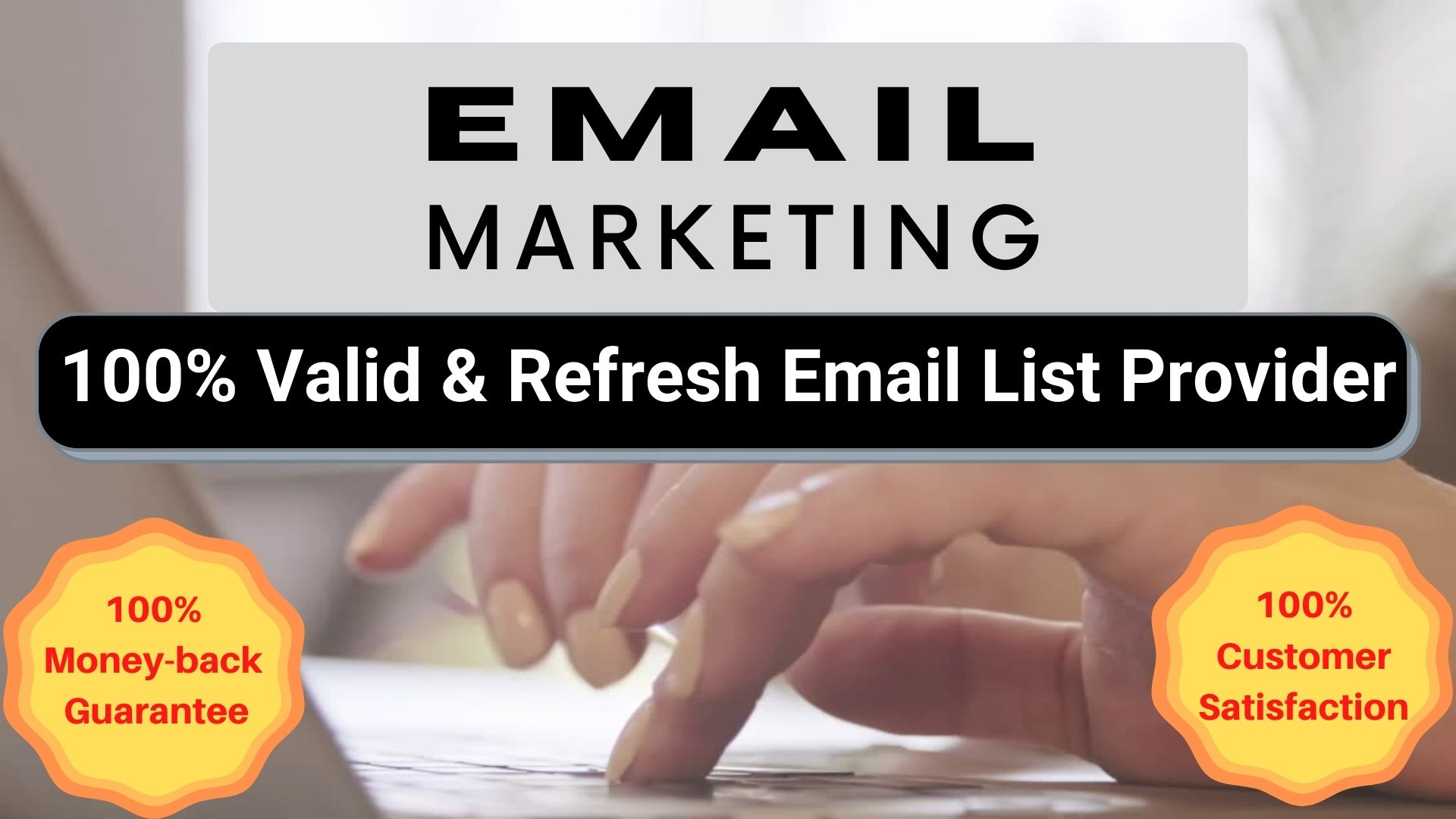 collect niche targeted email list clean and verified