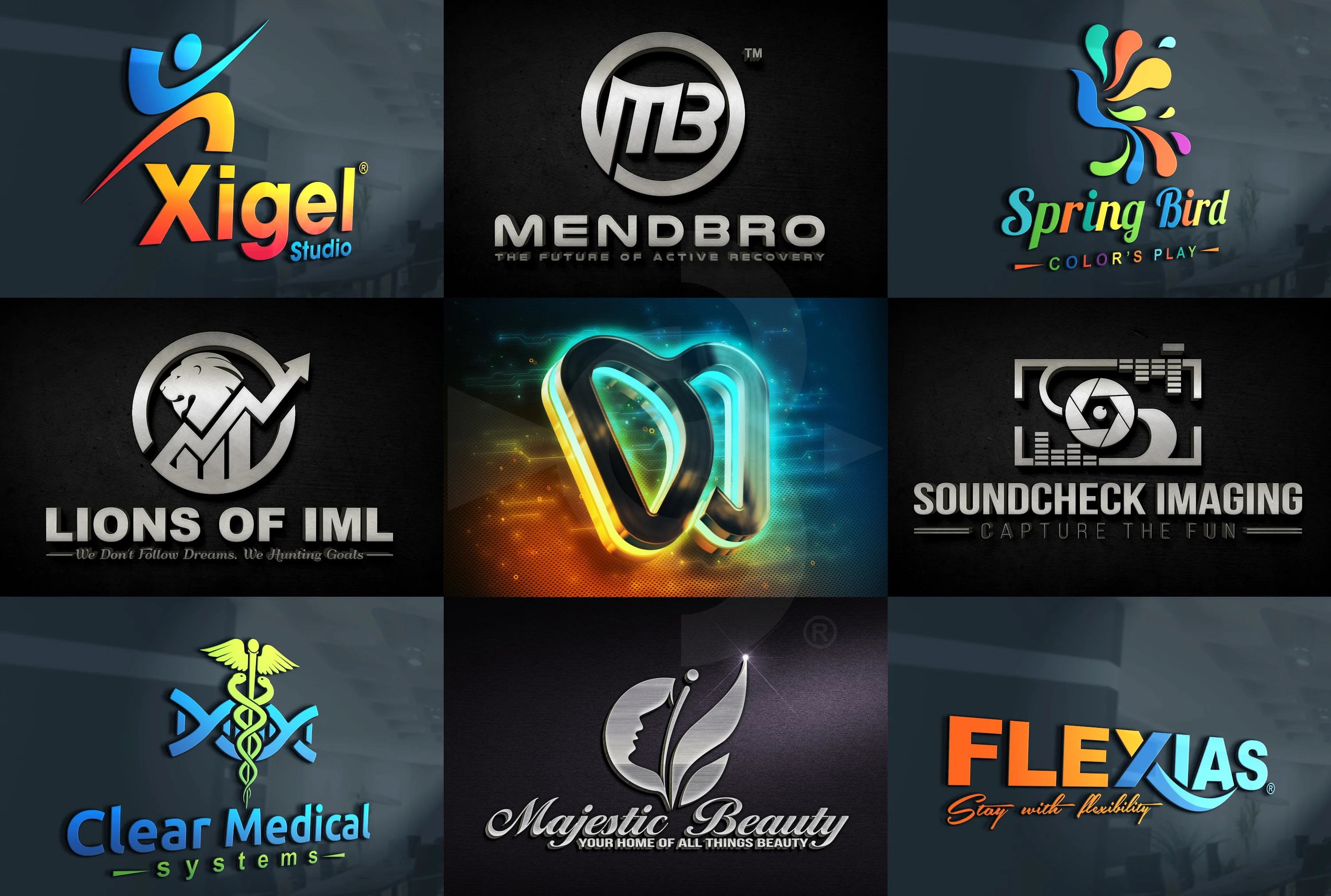 I will Design a creative and professional logo