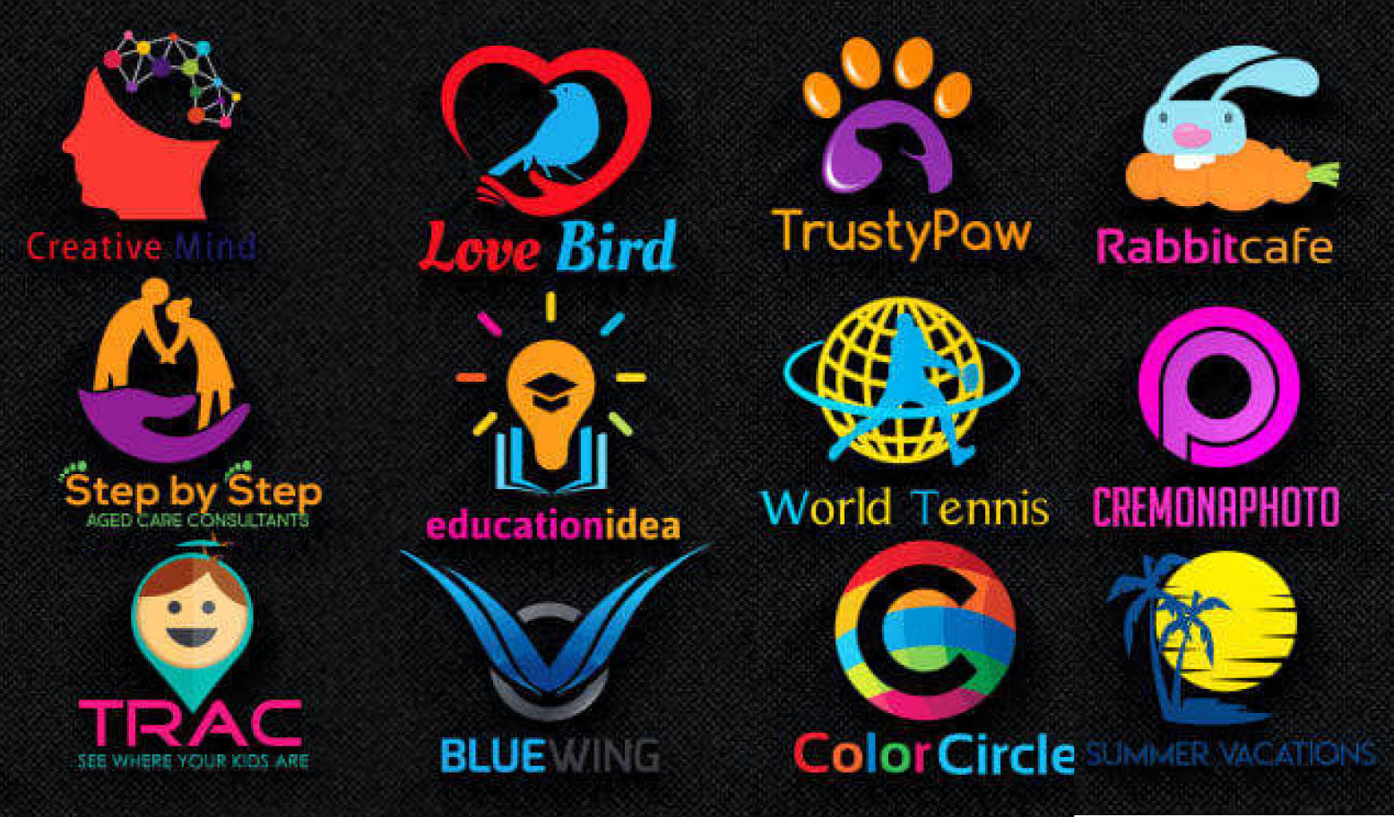 I will Design 2 creative and professional logo in 24 hours