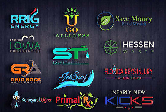 I WILL DESIGN BEAUTIFUL AND ATTRACTIVE LOGOS FOR YOU IN 6 HRS