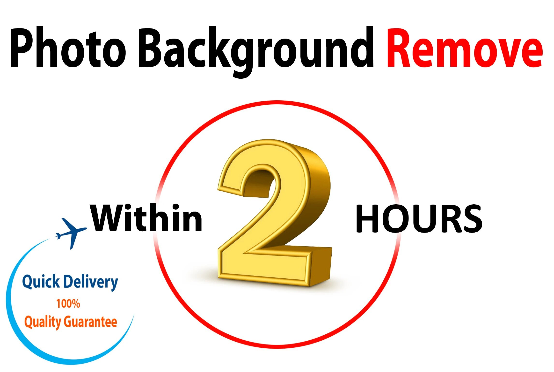 I will remove background from any type of image professionally in 2 hour