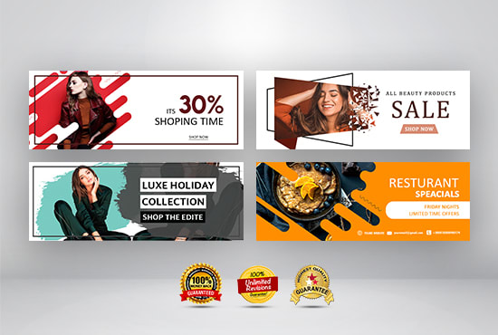 I will design facebook cover photo banner create cover banner