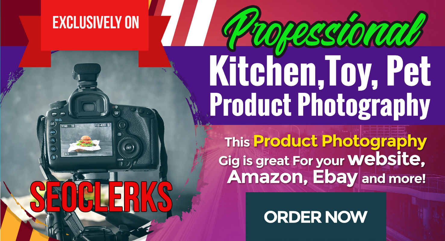 Product Photography Service For Website, Amazon, eBay
