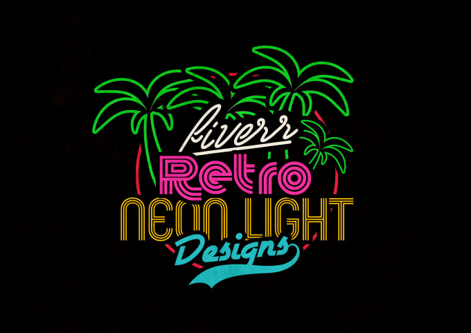 I Will Design a HQ NEON LOGO For You