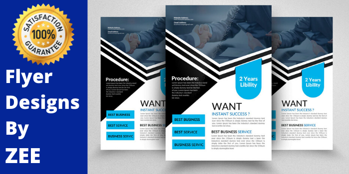 Flyer Design, Poster Design, Brochure Design , Banner ads Professionally