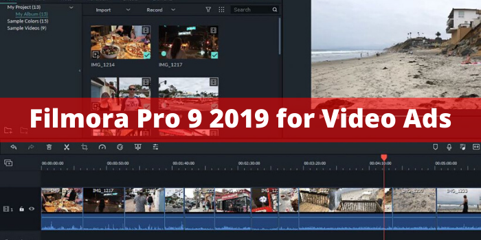 Commercial Video For Your Business,Brand or Company With Filmora Pro 2019