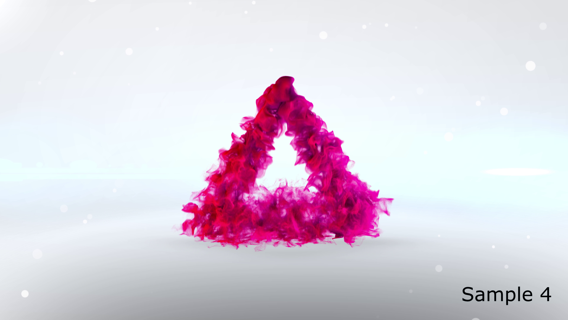create 2 out of 6 colorful particle logo animation for your business