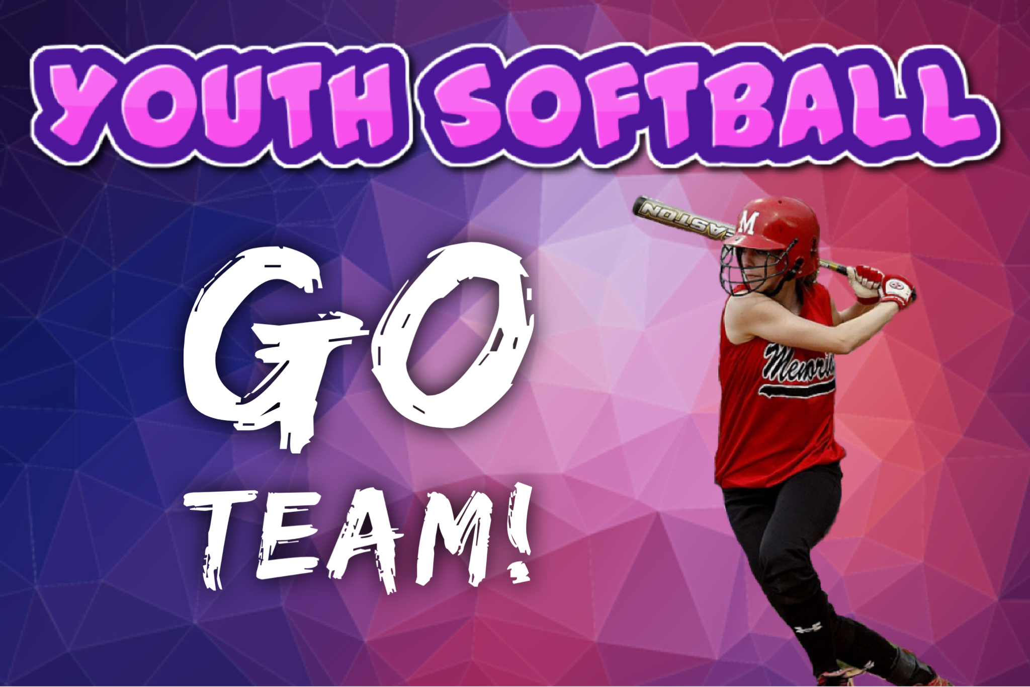 Add Sports Themed Photo Effects To Your Softball Photo
