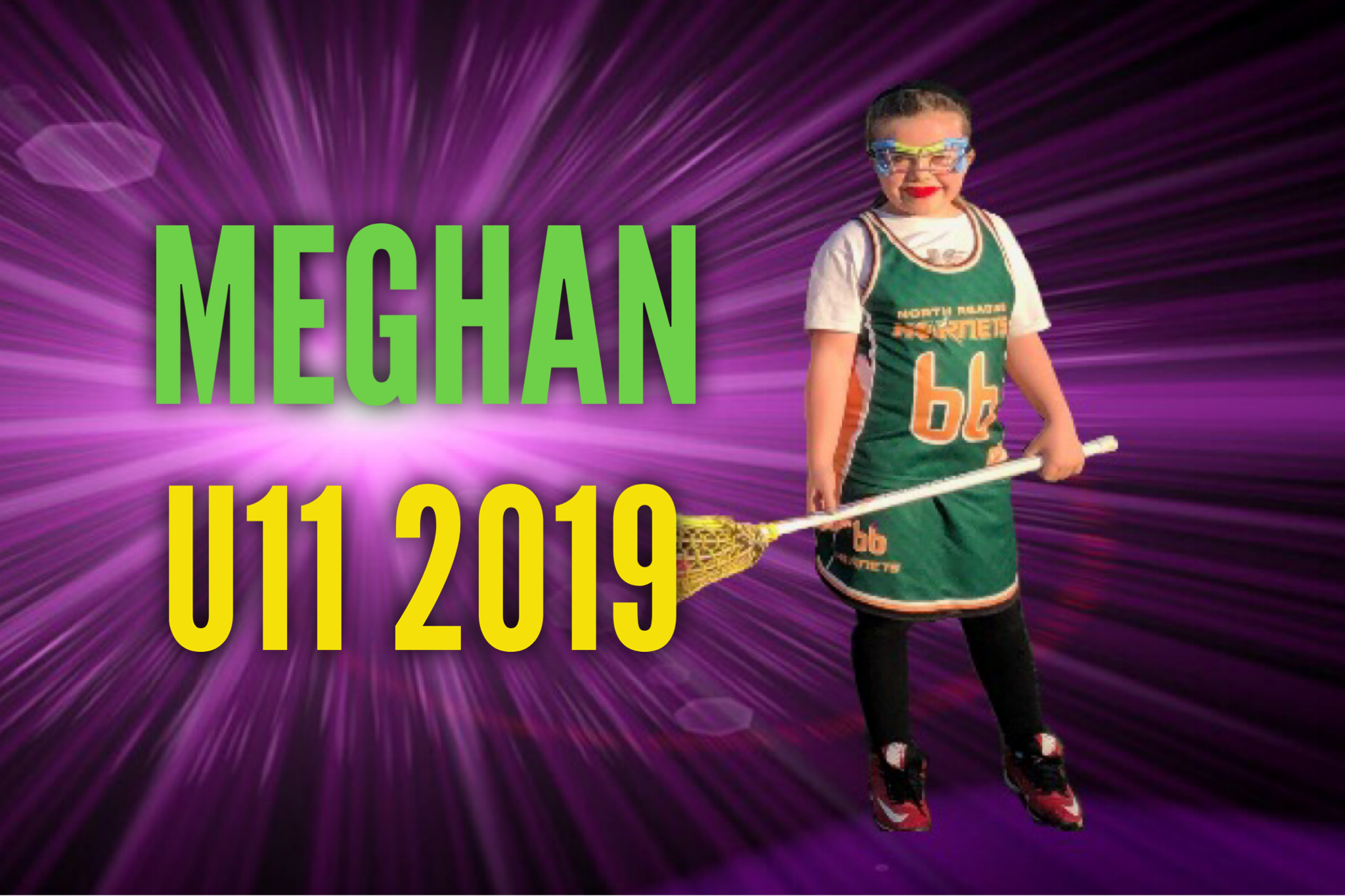 Add Sports Themed Effects To Your Lacrosse Photo
