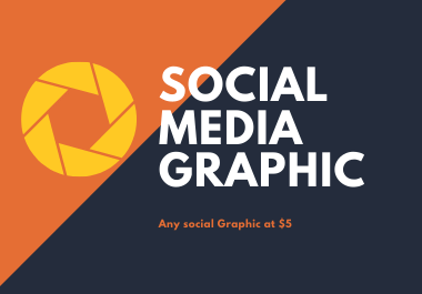 I can create Social Media Graphic for any platform