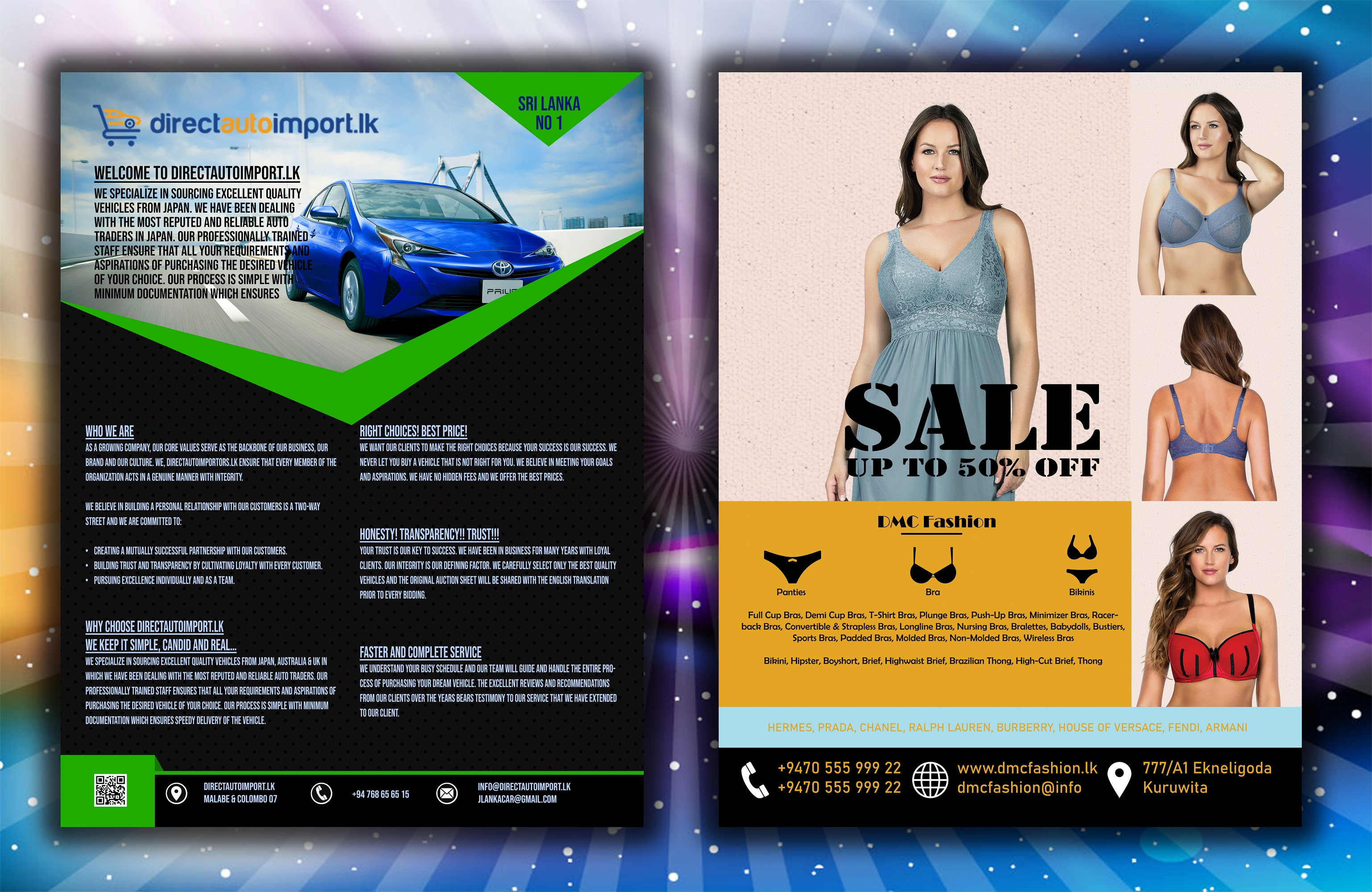 I will design professional and creative flyer ,brochure