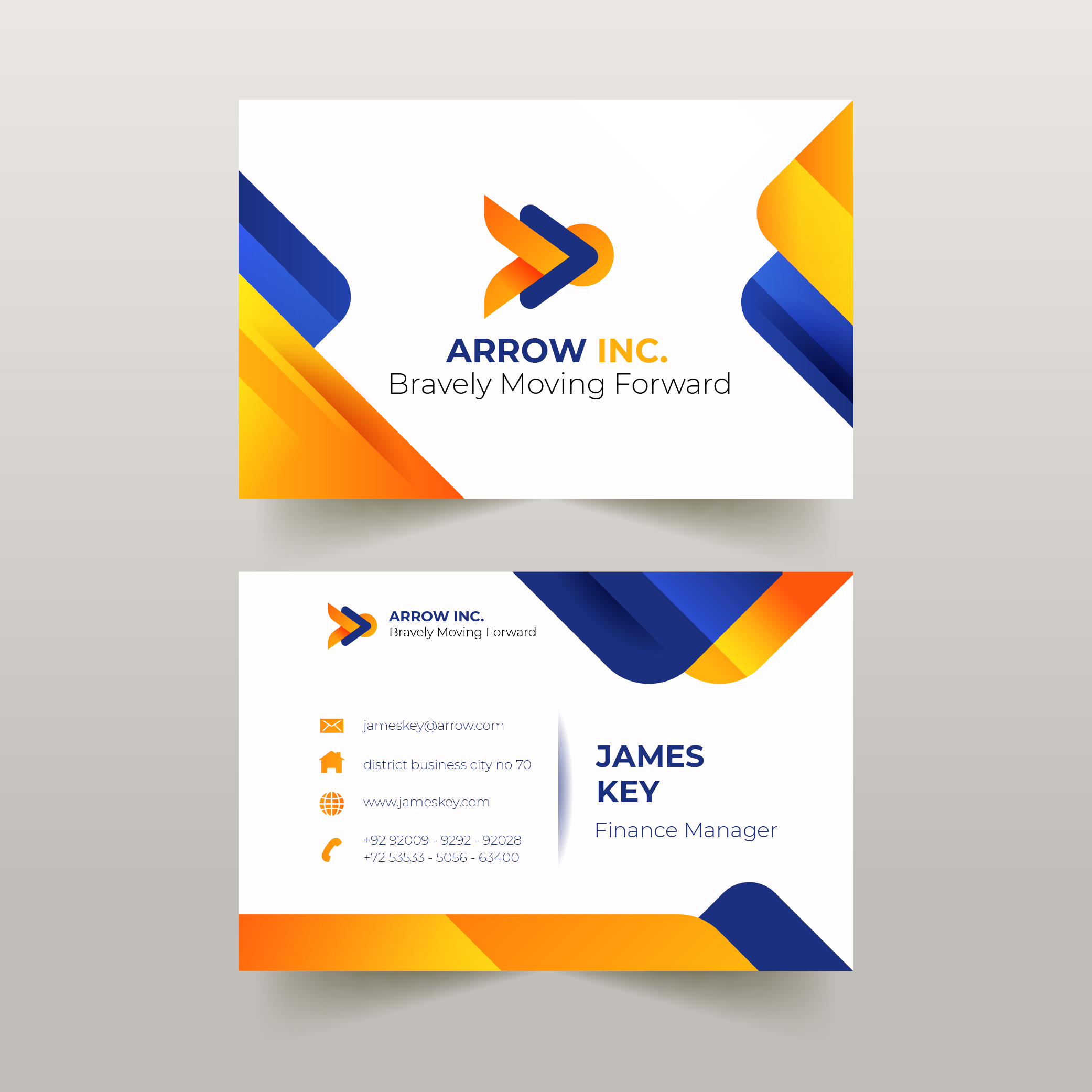 design modern visiting cards in just 24 hours for 10