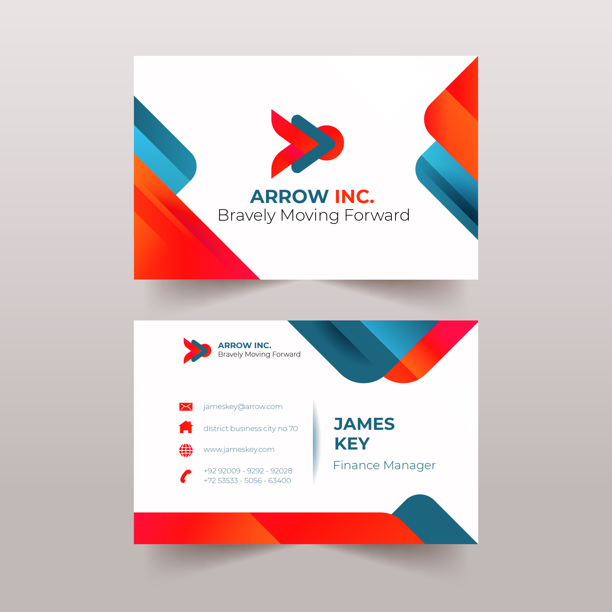 Design Modern Visiting Cards In Just 24 Hours