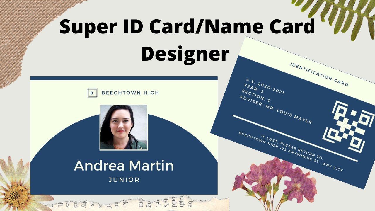 I wiil design great eye caching ID CARD within 24 hours