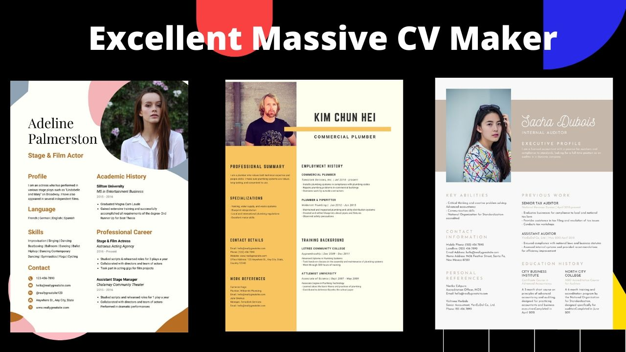 I wil design great eye caching CV/Resume designe within 24 hours