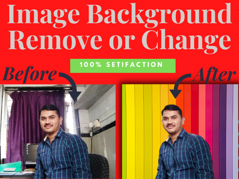 Image Background remove or Change professionally