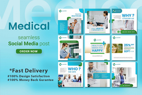 Amazing Banner, Poster & Cover Photo for your Social Media & Website