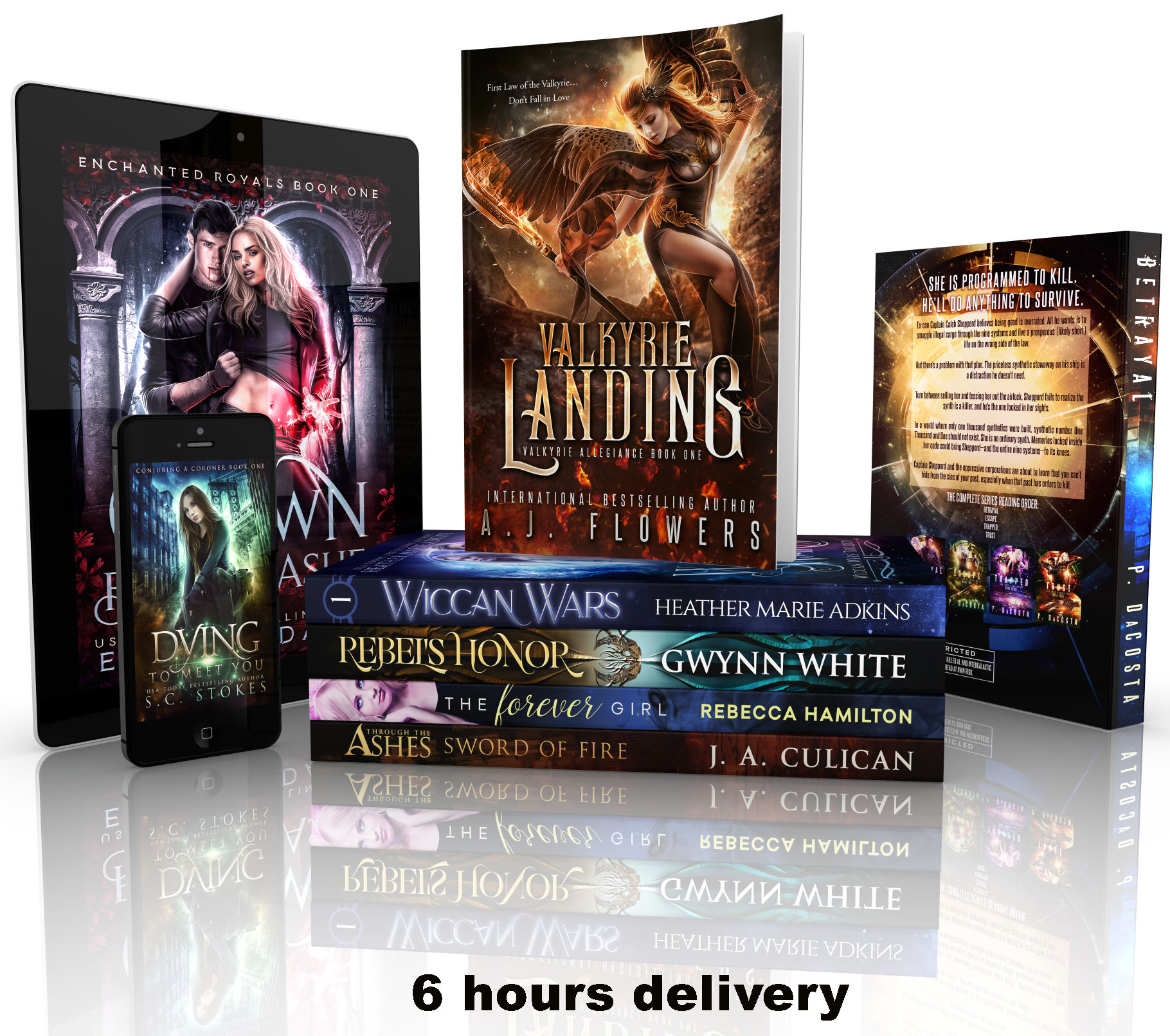 I will create professional book or ebook covers in 6 hours