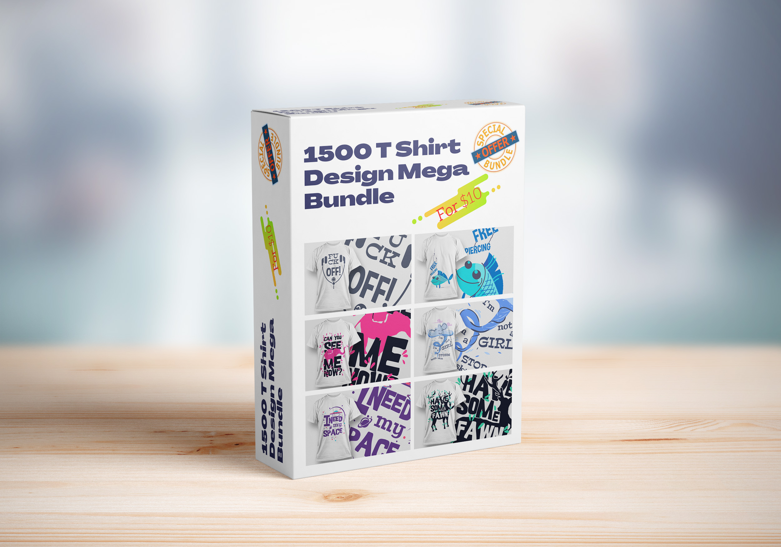 I Will Give You 1500 T Shirt Design Mega Bundle
