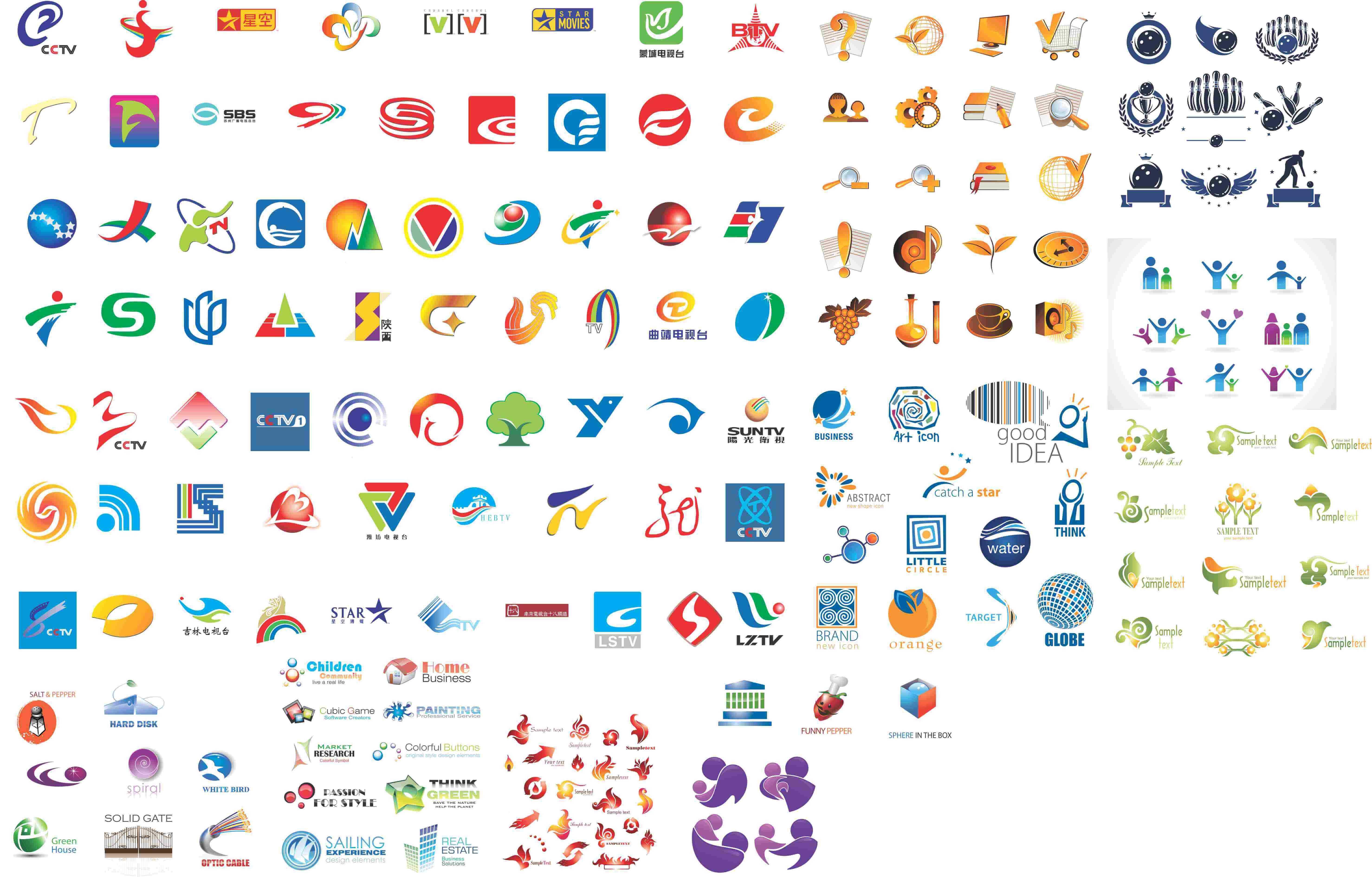 I Will Send You 6500+ Logo Design Templates
