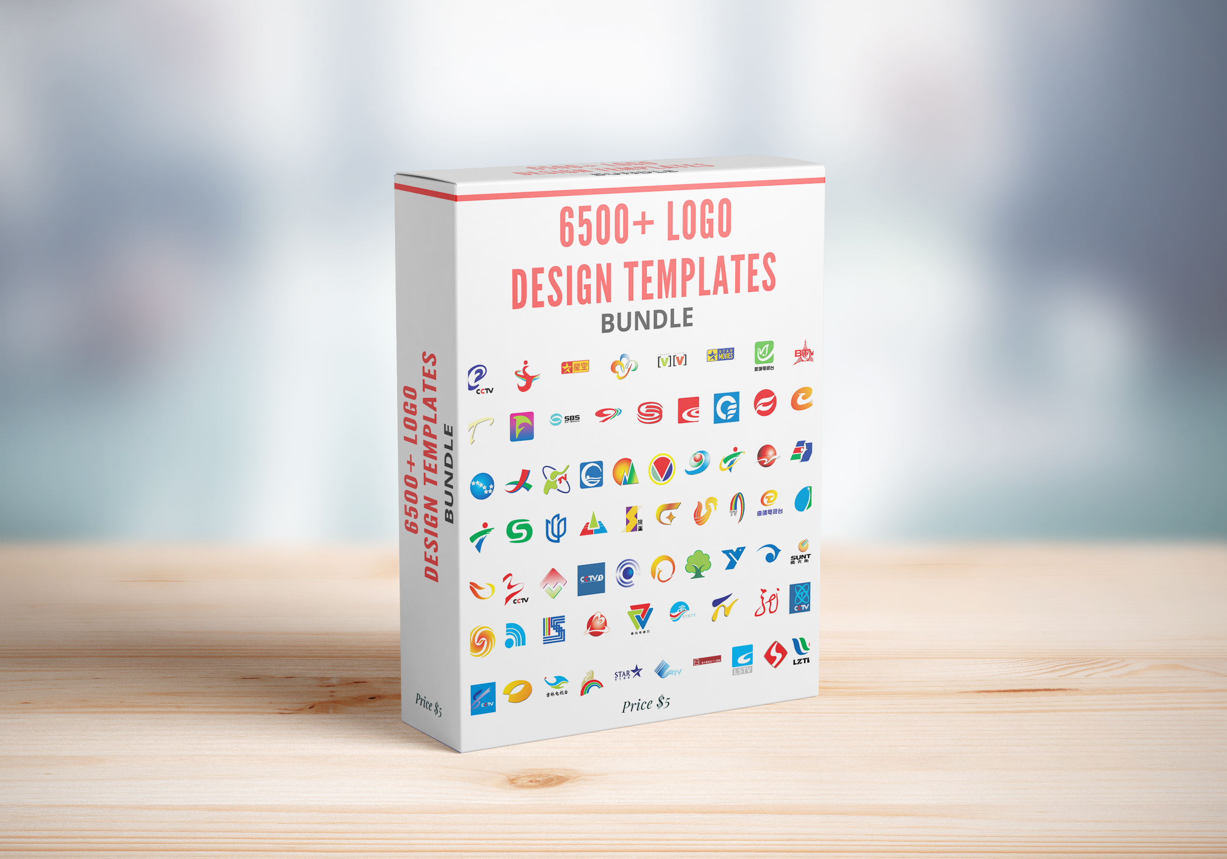 I Will Send You 6500+ Logo Design Templates