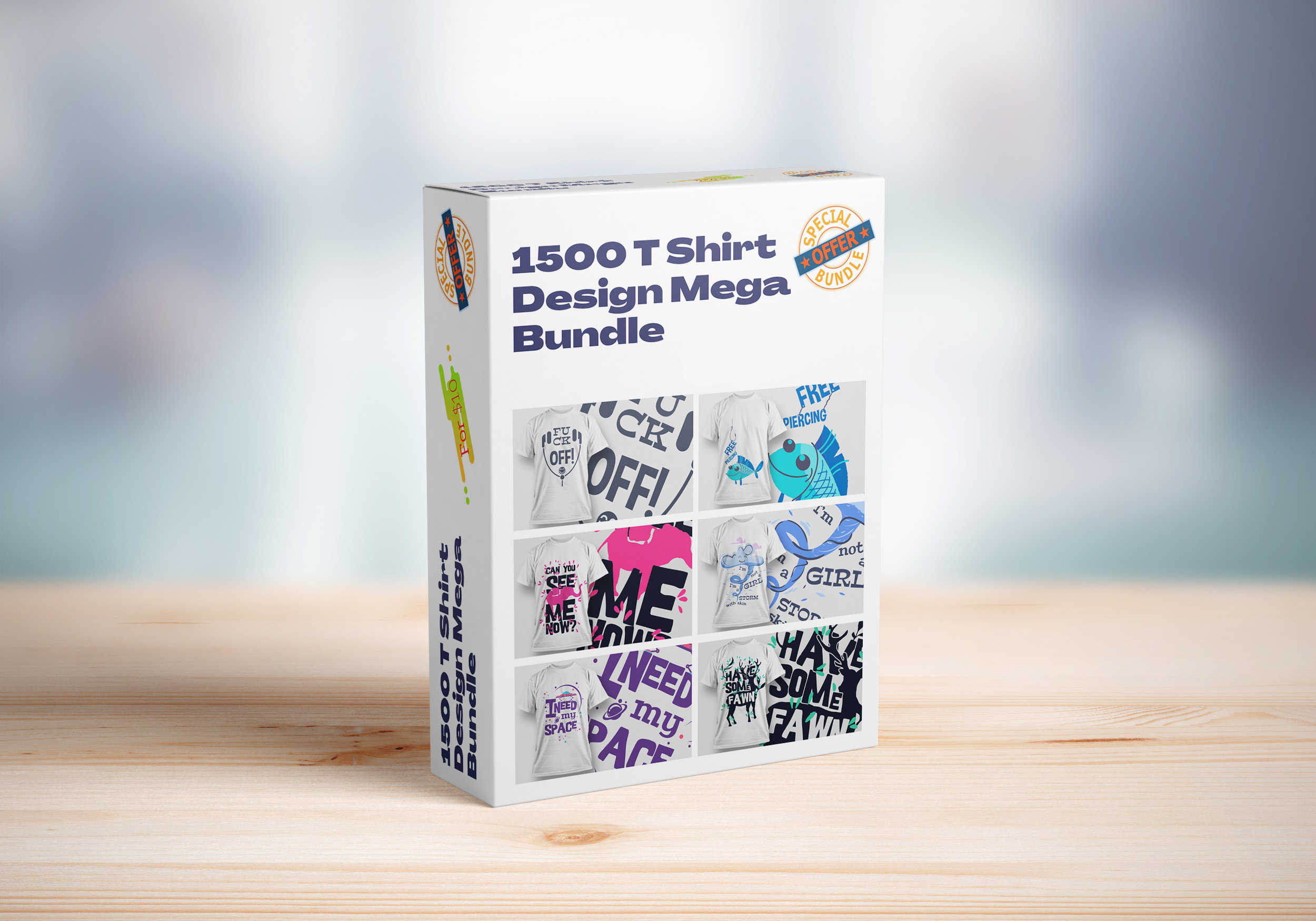 1500 T Shirt Design Mega Bundle