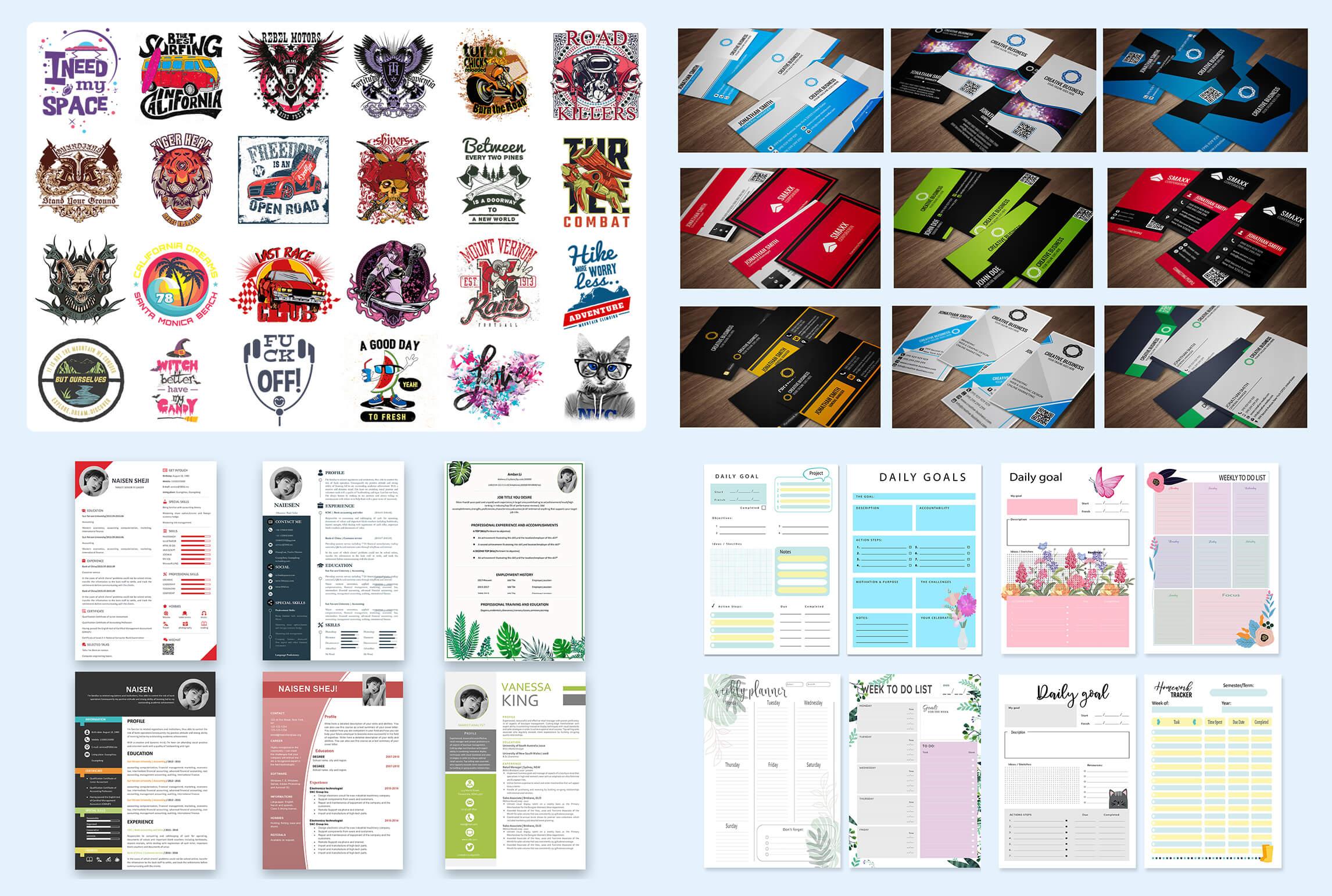 Graphics Design Templates Mega Bundle