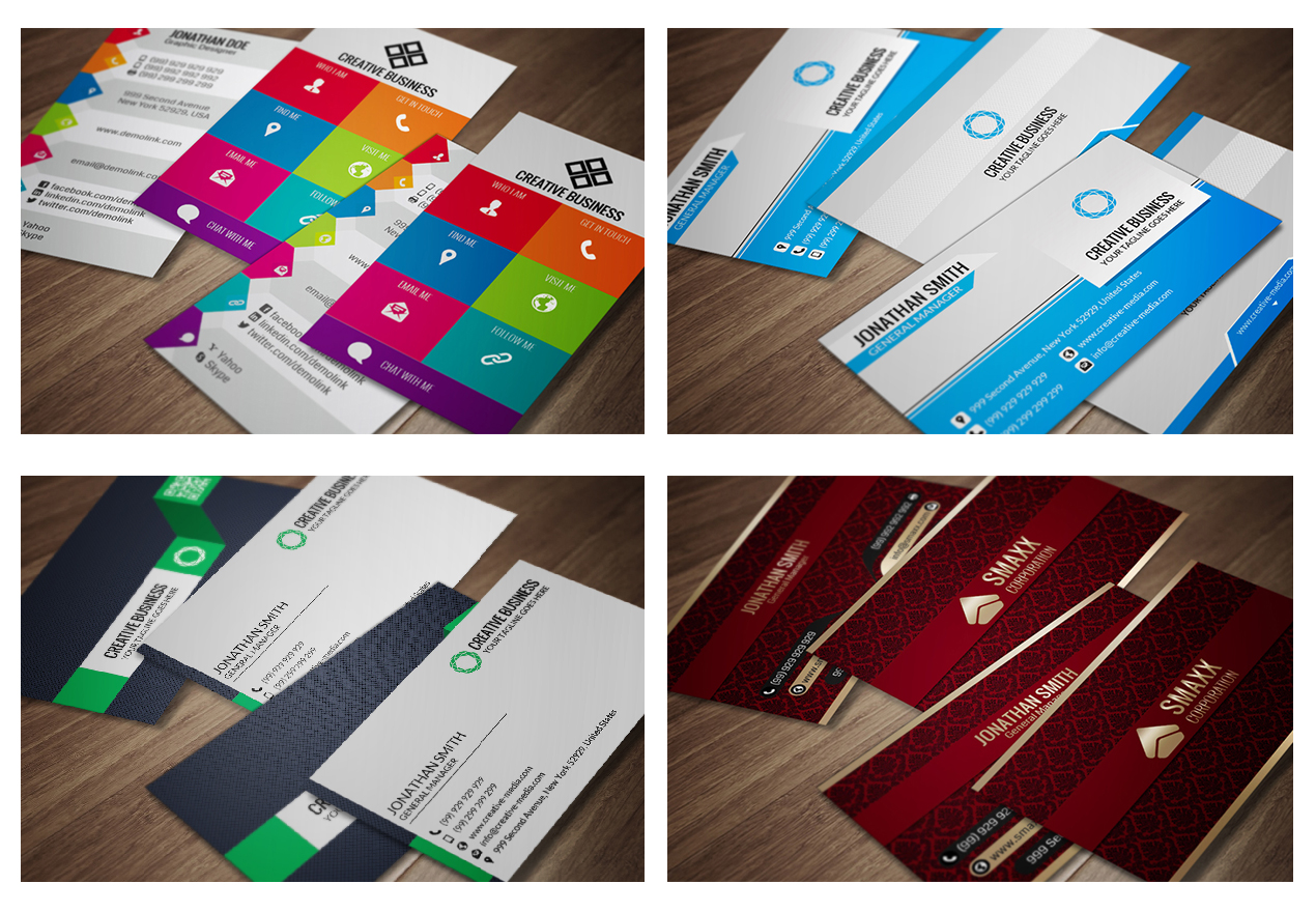 I will send you 600+ business card templates (PSD)