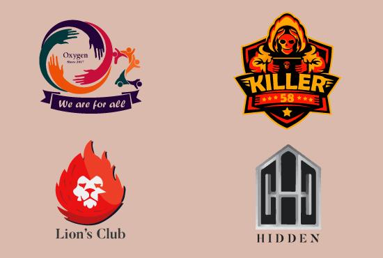 I'll design professional & unique logo in 24 hours