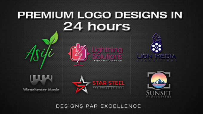 I will do eye catching logo for your business within 24 hours