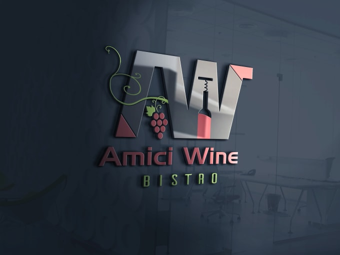 I will design a luxury business logo for you