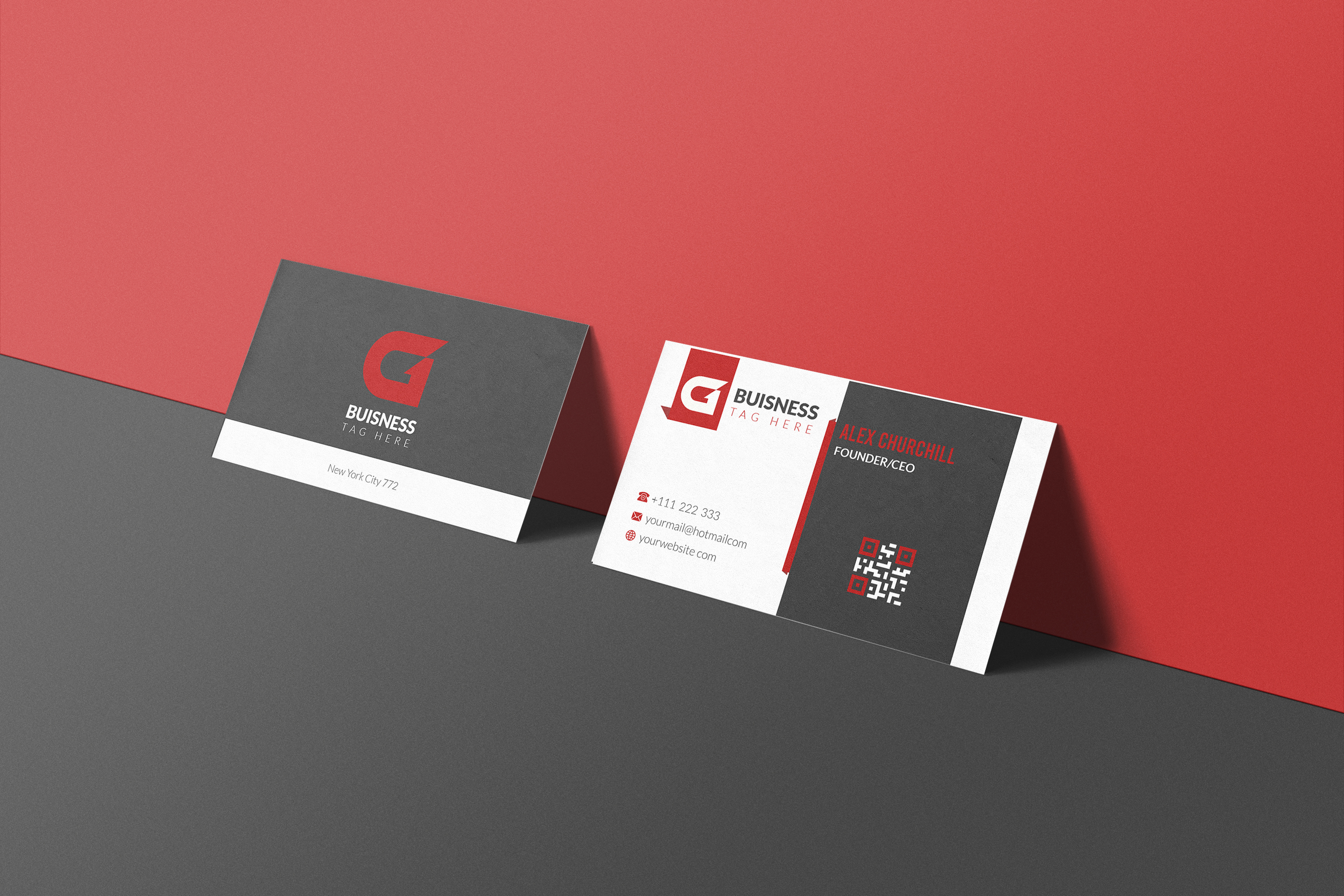 I will do business card,  letterheads,  stationery and qr code