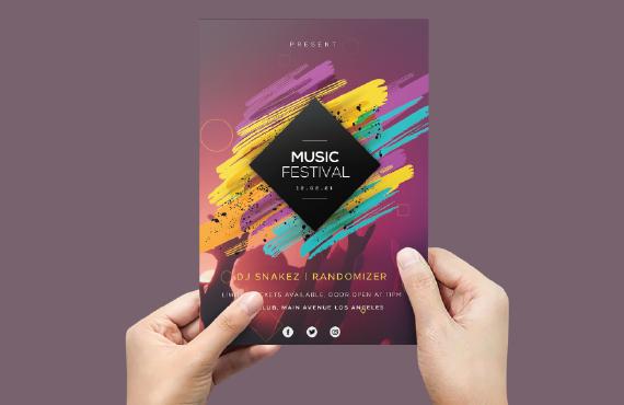I will design professional posters flyers banner brochure leaflet